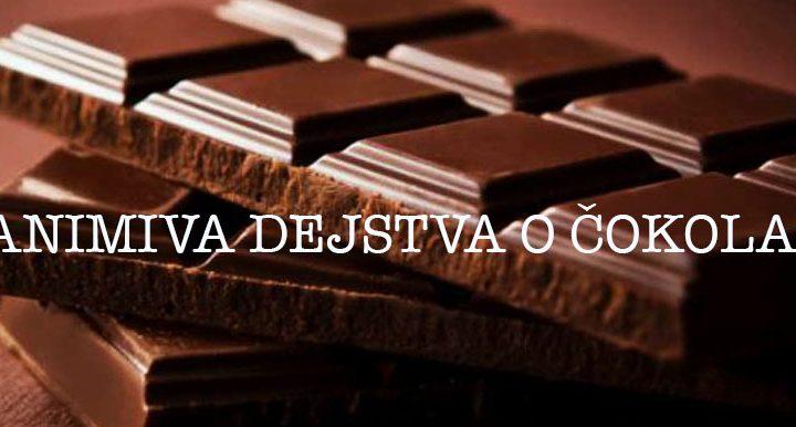 Zanimiva dejstva o cokoladi